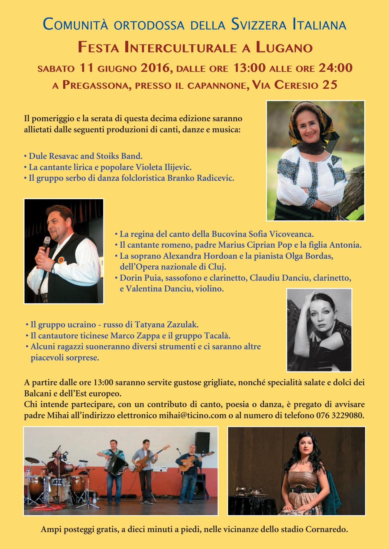 Festa Interculturale di Lugano 2016
